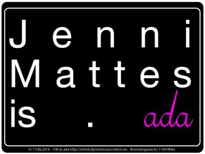 ada is… Jennifer Mattes