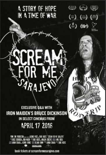 ada is … scream for me sarajevo